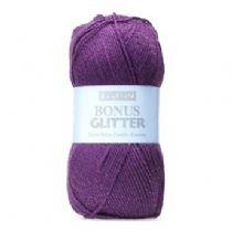 Hayfield Bonus Glitter DK 100g - OUR CLEARANCE PRICE FROM £1.99